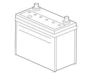 1992-2017 Honda Battery (51R/500AMP85) 31500-SR1-100M