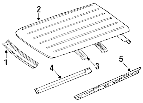 ROOF for 1993 Jeep Cherokee