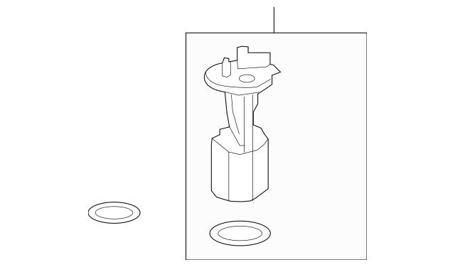 Genuine OEM 2008-2010 Saturn Vue Fuel Pump 19300286