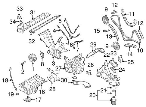 ENGINE PARTS for 2005 Porsche Cayenne