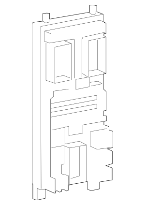 Genuine OEM Fuse Box Part# LR032733 Fits 2010-2011 Land