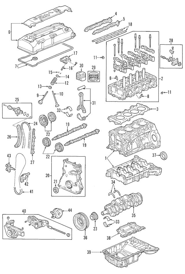 2000-2009 Honda S2000 COUPE Tensioner, Cam Chain 14510-PCX