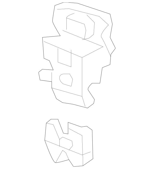 2007-2011 Honda CIVIC COUPE Lock, Trunk (Handle+Power