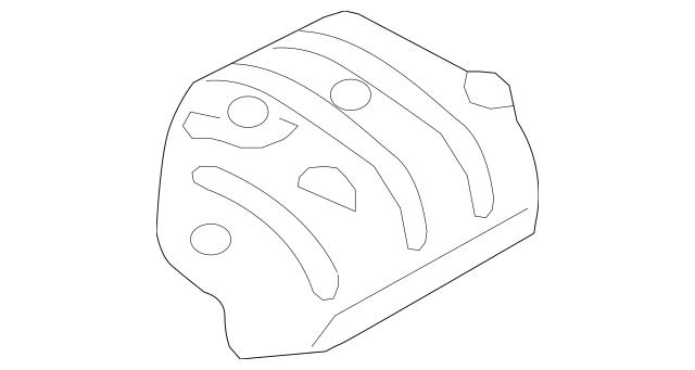 2007-2015 Mazda CX-9 Heat Shield TD11-56-452B
