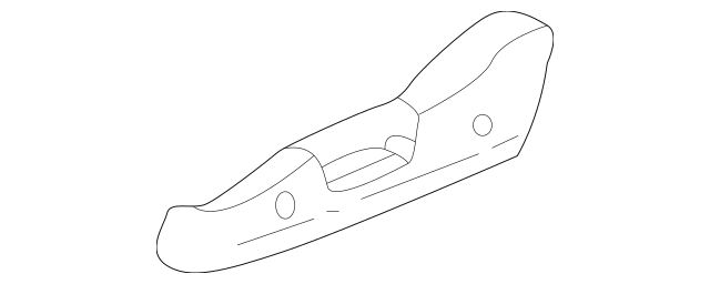 1999-2003 Acura TL SEDAN Cover, R Reclining *NH167L