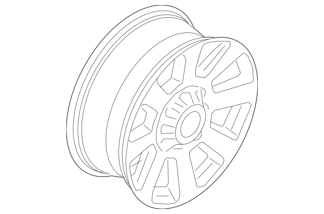 Buy this Genuine 2017-2019 Ford Wheel, Alloy HC3Z-1007-D