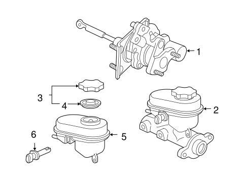 OEM Hydraulic System for 2006 GMC Savana 3500