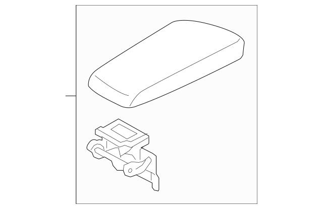 OEM NEW 2011-2013 Kia Optima Manual Transmission Armrest