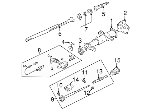 LOWER COMPONENTS for 1997 Chevrolet K1500 Pickup (Silverado)