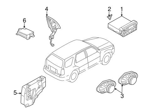 Sound System for 2005 Mercury Mariner