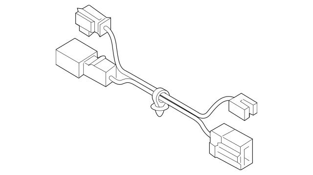 2018-2019 Hyundai Sonata Steering Column Wiring Harness