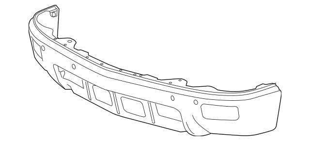 Genuine OEM Front Bumper Part# 23173677 Fits 2014-2015