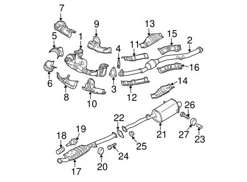 2010 Subaru Forester Exhaust Diagram