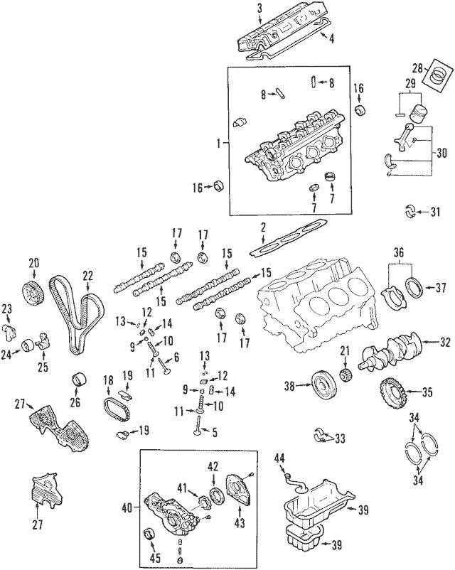 Genuine OEM Timing Belt Part# 24312-37500 Fits 2001-2010