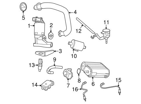 Powertrain Control for 2007 Chrysler Aspen Parts