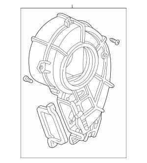 Discount Genuine OEM 1999-2004 Honda ODYSSEY 5-DOOR Blower