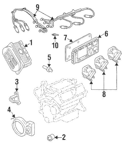 Ignition System for 2002 Pontiac Grand Prix