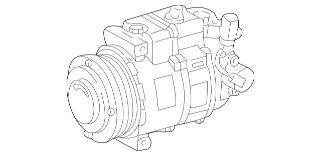 2002-2004 Mercedes-Benz C 32 AMG® Compressor 000-230-78-11