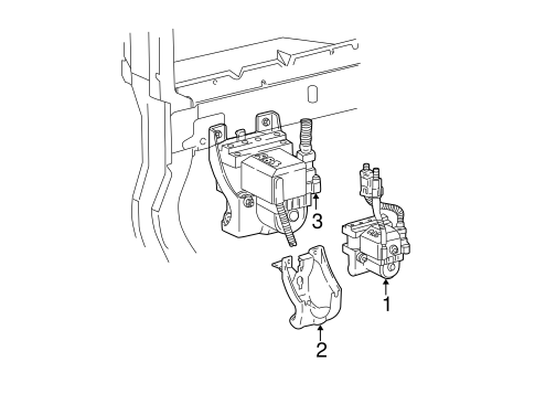 ANTI-LOCK BRAKES for 2002 Ford Mustang