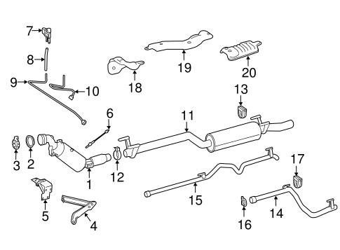 Exhaust Components for 2015 Mercedes-Benz Sprinter 2500