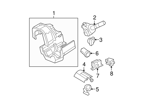 Ignition Lock for 2008 Mercury Mountaineer