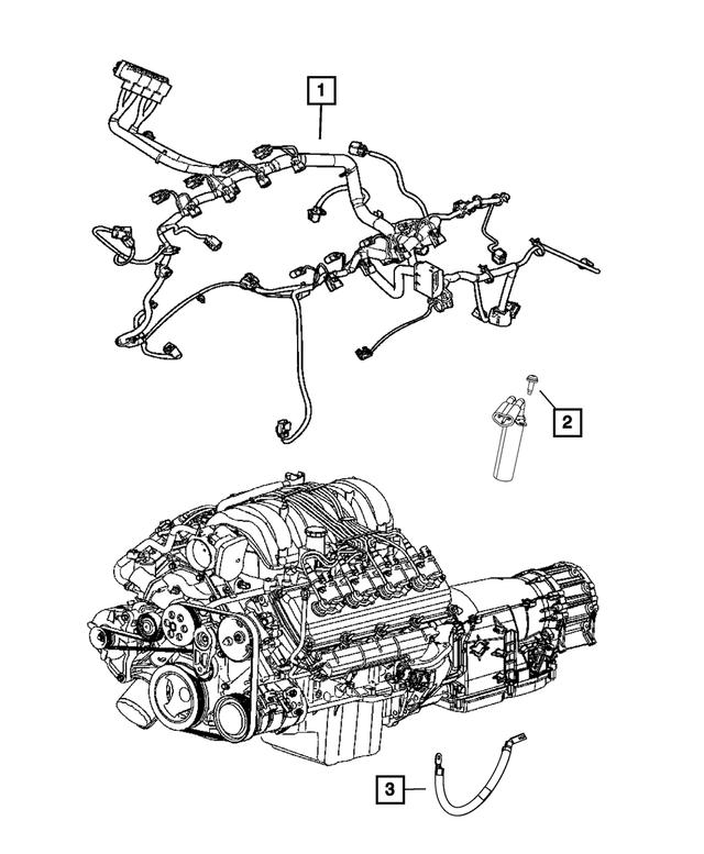 2015 Jeep Grand Cherokee Injector Wiring 5035359AC