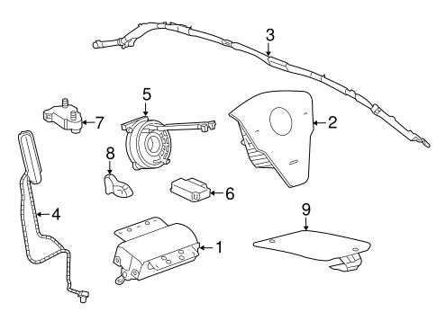 Air Bag Components for 2013 Chevrolet Captiva Sport