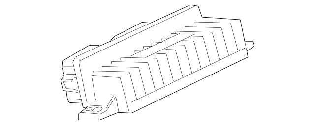 1999-2010 Ford Glow Plug Module Assembly YC3Z-12B533-AA