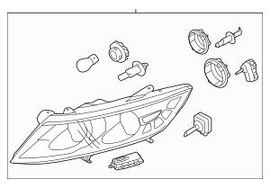 2014-2015 Kia Optima Composite Assembly 92102-4C551