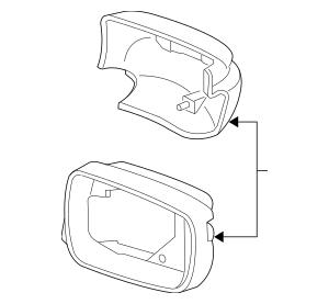 2010-2013 Acura MDX 5-DOOR Housing Set, L *NH731P