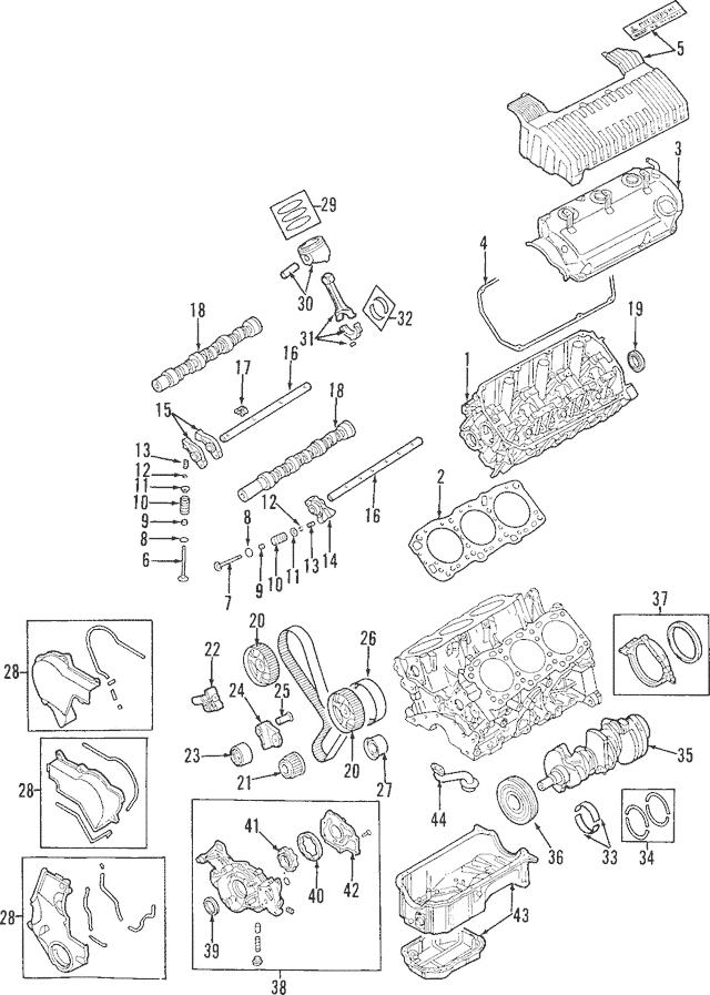 1997-2004 Mitsubishi Diamante Cylinder Head AW343484