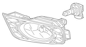 Honda Fog Light Assembly, R Front (33900-SHJ-A51