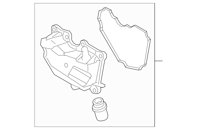 2011-2019 Ford Fiesta Oil/Air Separator AE8Z-6A785-D