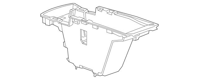 2014-2015 Chevrolet Impala Compartment Box 23269980