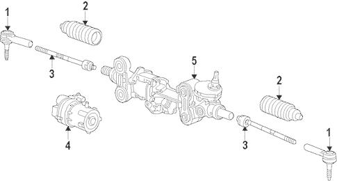 Steering Gear & Linkage for 2016 Chevrolet Silverado 1500