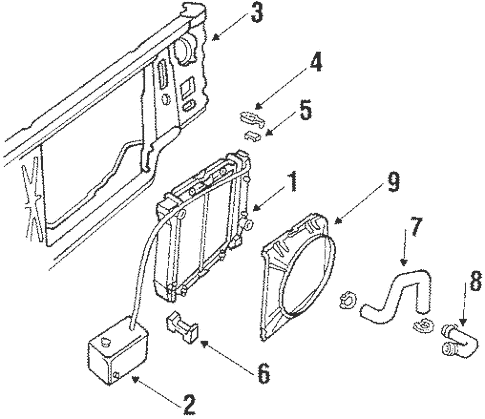 1986 ford f 150 302 engine bracket diagram auto electrical wiring
