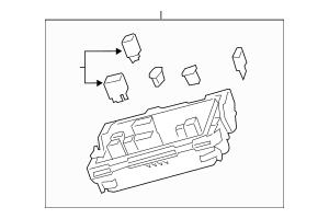 Genuine OEM 2013-2015 Cadillac ATS Fuse & Relay Box