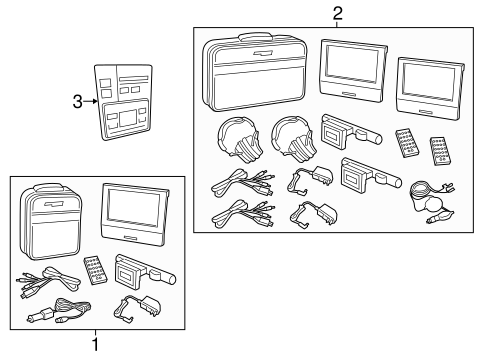 Entertainment System Components for 2015 Ford Police