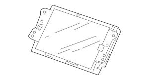2007-2009 Acura RDX 5-DOOR Display Assembly, Navigation