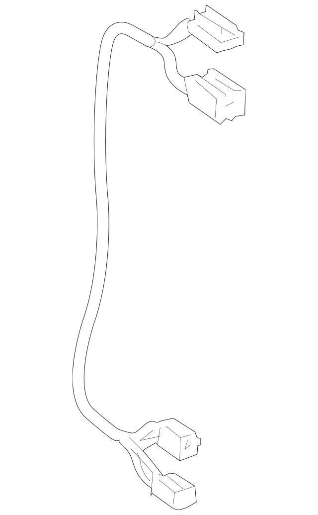 Mercedes-Benz Blower Motor Harness (171-820-00-04) For