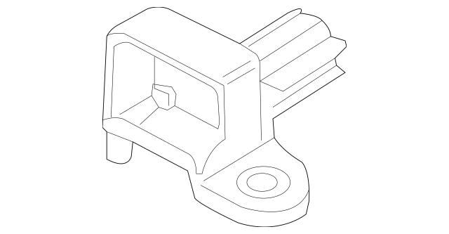 2004-2010 Volkswagen Beetle Ft Impact Sensor 6Q0-909-606-H