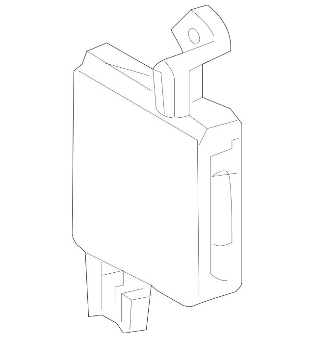 2010-2013 Toyota Highlander HVAC Control Module 88650
