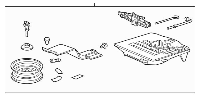 Genuine OEM Temporary Kit *NH167L* (Graphite Black) Part