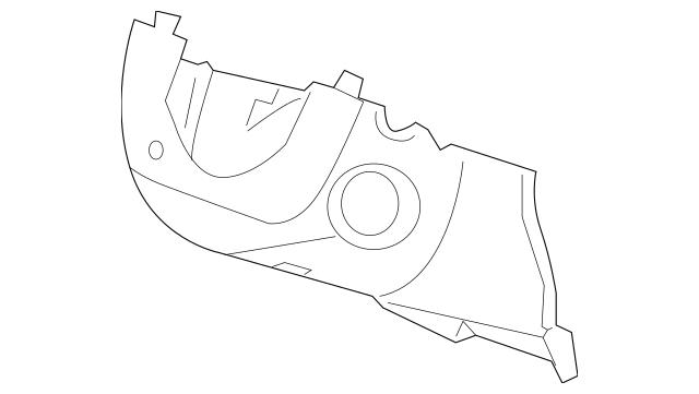 2010 Honda INSIGHT Cover Assembly, Column (Lower) *B157L