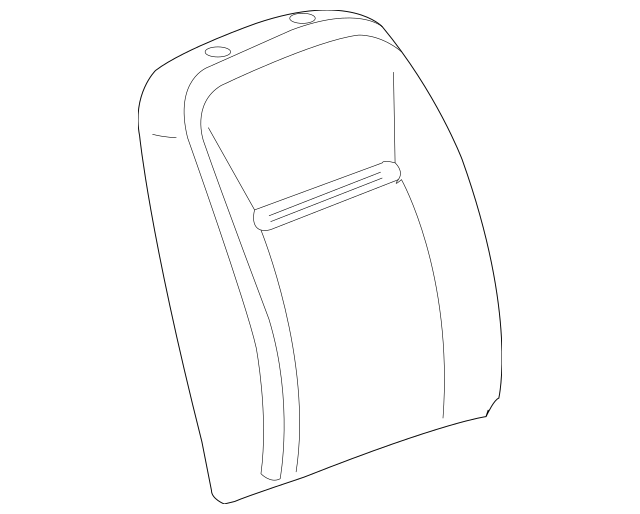 2015-2016 Chevrolet Impala Limited Seat Back Cover
