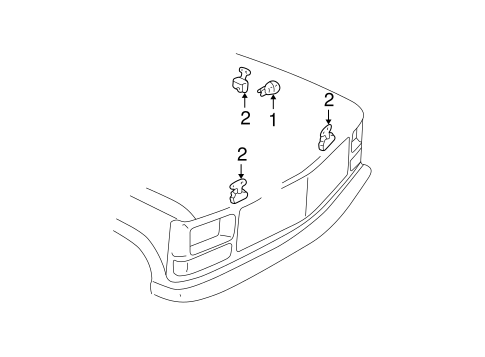 Electrical Components for 1996 GMC C1500 Pickup