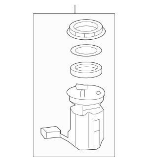 2011-2013 Honda ODYSSEY 5-DOOR Module Set, Fuel Pump 17045