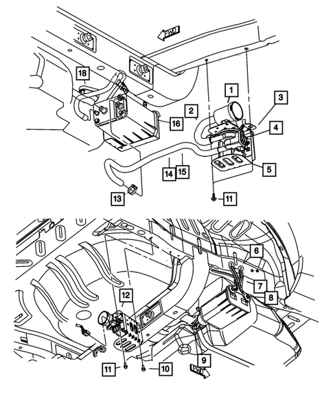 2004 Dodge Neon Rear Suspension Diagram : Dodge Neon Front