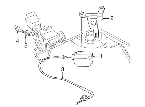 OEM 2004 Chevrolet Impala Cruise Control Parts