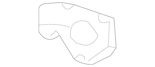 2003-2006 Kia Sorento Temp Sensor Bracket 25617-39800